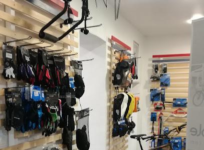 Intérieur magasin de vélos Haut-Languedoc